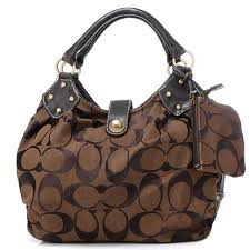 Coach In Signature Medium Coffee Satchels AZM Give You The Best feeling!