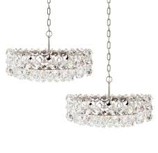 pair of large bakalowits and sohne vienna drum chandeliers for pertaining to brilliant household vienna crystal chandelier designs