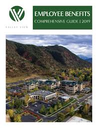 Employee Benefits Comprehensive Guide 2019 By Valley View