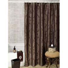Fancy Shower elegant dark brown fancy shower curtains with classy grey pattern 7748 by xevi.us