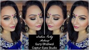 indian party makeup full face tutorial gurp dhaliwal captur eyes studio you