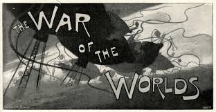 the very first illustrations of h g wells the war of the worlds  war of the worlds goble