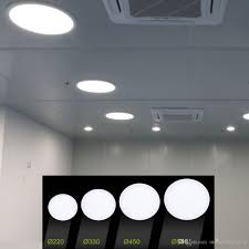 Round Suspended Ceiling Lights Light Bed Led Fixture Truethabo