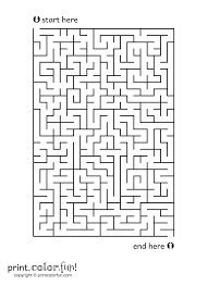 Here S A Rectangular Maze To