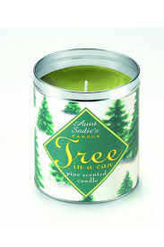 pine tree candle large pine tree candle60