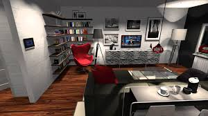 office space in living room. Plain Living And Office Space In Living Room
