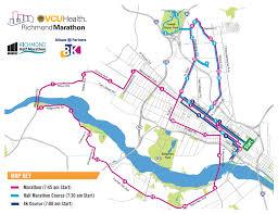 Course Information Vcu Health Richmond Marathon