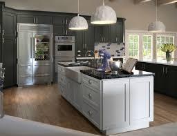 Gray Shaker Kitchen Cabinets Natural Grey Shaker Ready To Assemble Kitchen Cabinets Kitchen
