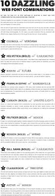 best ideas about font pairings font combinations 10 great web font combinations