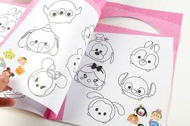 100 Pcslot Tsum Tsum Minnie Mickey Winnie Dumbo Coloring Book