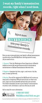 Access your Family's Immunization Information :: Washington State ...