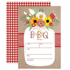 Barbeque Invitation Baby Bbq Invitation Baby Shower Invite Baby Q Barbeque