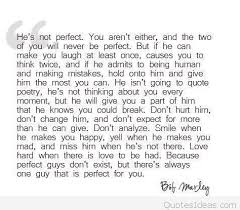 bob marley perfect love quote