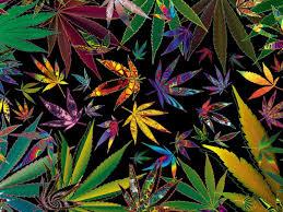 Trippy Weed Wallpaper 4k
