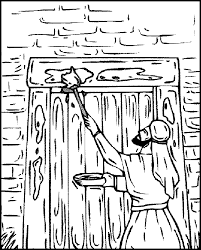 Small Picture Passover Lamb Colouring Pages Coloring Home
