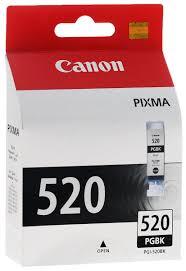 <b>Картридж Canon PGI-520BK</b> (2932B004), черный, для струйного ...