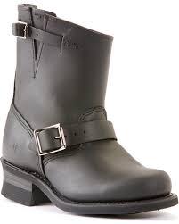 zoomed image frye women s engineer 8r motorcycle boots black hi res
