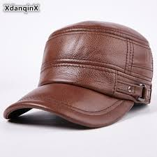 <b>XdanqinX Autumn Winter</b> Adult Men Genuine Leather Warm ...