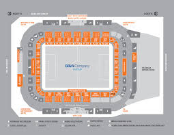 Bbva Compass Stadium Houston Seating Chart Gold Cup Gameday Guide Houston Dynamo