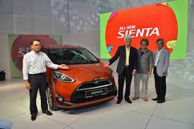 new car launch in malaysia 20162016 Toyota Sienta mini MPV launched in Malaysia