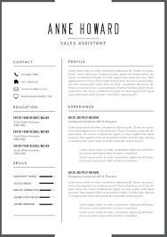 Contemporary Resume Template Perfect Resume