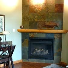 slate fireplace ideas black slate tile