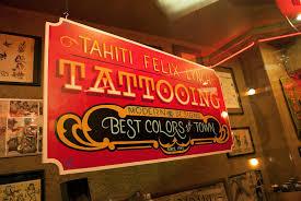 History — Tahiti Felix's Master Tattoo Parlor & Museum Est. 1949