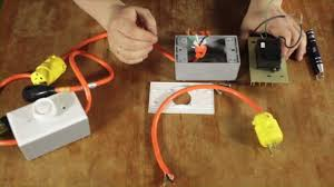 Cord Light Dimmer Switch How To Make Cheap Diy Dimmer Switches For Your Film Lights