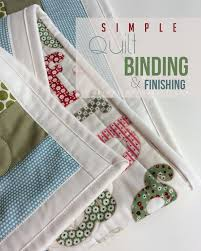 Simple Quilt Binding & Finishing Tutorial | Quilt binding, Mitered ... & Tutorial: Quilt Binding & Finishing - Machine binding a quilt using a  technique every quilter Adamdwight.com