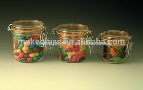 Decorative Glass Jars With Lids Airtight Glass Decorative Jar With Lid Food Storage Containers 24
