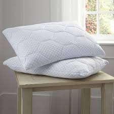 pillow with cooling gel. pure rest cooling gel memory foam \u0026 loft reversible pillow with