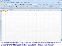 Download Microsoft Office Excel 2007 Free Full Version Video