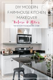 Diy Modern Farmhouse Kitchen Makeover Final Reveal Full Source
