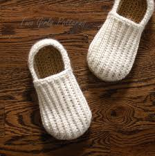 Mens Bedroom Shoes Crochet Pattern For Mens House Shoes The Lazy Day Loafers