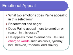 the crisis no thomas paine ppt video online  emotional appeal what two emotions does paine appeal to in this selection resentment and anger