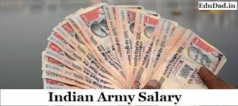 Army Income Chart Indian Army Salaries Slip 2019 Chart By Rank For Gd Clerk
