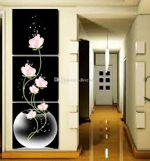 2018 abstract art modern wall paintings flowers porch vertical decorative picture wall art top home decoration from dhvendor 5 63 dhgate com