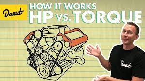 how horsepower works torque vs horsepower how it works youtube
