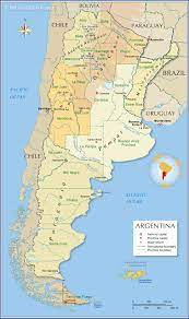 Administrative Map of Argentina - Nations Online Project
