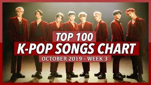 Top 100 K Pop Songs Chart October 2019 Week 3