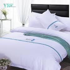china yrf king size hotel bedding sets