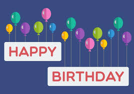Happy Birthday Balloons Banner Happy Birthday Balloon Banner Download Free Vector Art Stock