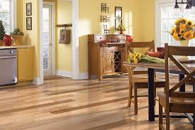 mohawk waron hickory natural 5 engineered hardwood flooring room
