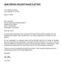 Offer Acceptance Email Sample Best Solutions Of Formal Job Offer Acceptance Letter Sample