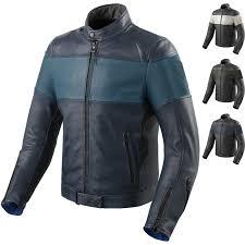 rev it nova vintage leather motorcycle jacket