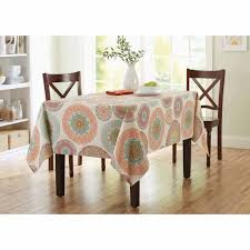 better homes and gardens lace medallion tablecloth with 60 inch round vinyl tablecloth