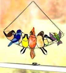 stained glass birds stained glass birds bird designs pattern book books stained glass birds on a