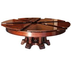 enchanting expanding round table plans pdf woodwork dining within decorations 16