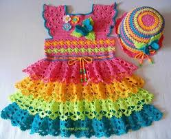 All Free Crochet Patterns Simple Wholesale Colorful Crochet Baby Dress With Diagram All Free