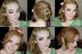Hair Style For Medium Length 5 easy hairstyles for mediumlength hair youtube 6338 by wearticles.com